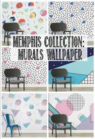 how to hang a wall mural memphis design toddler helpers u0026 video