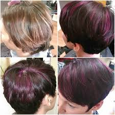cut before dye hair 13 best multi color highlights lowlights images on pinterest