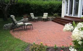 Brick Patio Design Ideas Decoration In Brick Patio Design Ideas Semi Circle Brick Patio