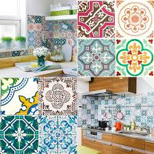 home decor wall tile art sticker european design kitchen