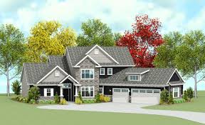 House Plans With Angled Garage Detail Granite Ridge Builders