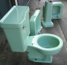 Charming Green 50s Bathroom Retro Renovation Vintage Bathroom Fixtures For Sale