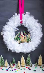diy mini tree wreath design improvised