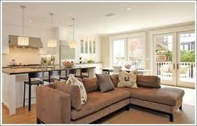 Lshaped Couch Open Concept Kitchen HouseDecor Ideas - Kitchen and family room