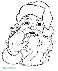 santa letter coloring page christmas coloring pages