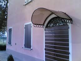 tettoia ferro battuto foto tettoia in ferro battuto e policarbonato di artistica