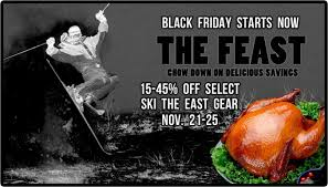 black friday ski gear feast sale and new ste gear ski the east