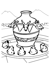 an ancient china seismoscope coloring page netart