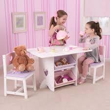 Kidkraft 2 In 1 Activity Table With Board 17576 Kidkraft Heart Table Set With Pastel Bins 26913 Hayneedle