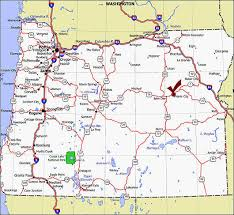 oregon map cities my