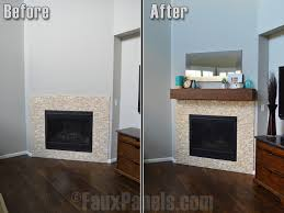 office white marble fireplace airmaxtn binhminh decoration