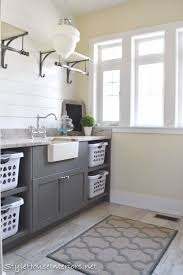 Laundry Cabinet With Hanging Rod Best 25 Grey Laundry Basket Ideas On Pinterest Grey Laundry