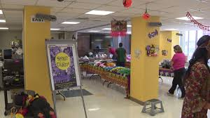 spirit halloween stores donate costumes candy to kids at