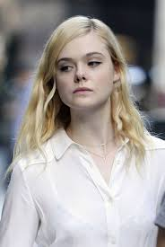 elle fanning on the set of untitled woody allen movie in new york