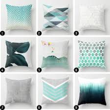 decorative pillows for living room two turquoise pillow covers turquoise and white decorative pillow