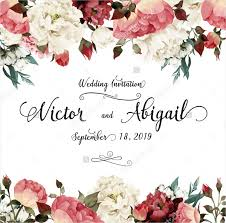 wedding invitations floral 21 watercolor wedding invitations free premium templates