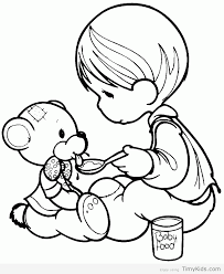 coloring pages of precious moments timykids