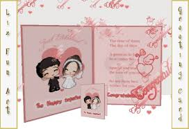 marriage cards messages second marketplace wedding card with personal message