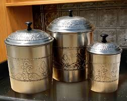 Kitchen Canister Sets Stainless Steel 100 Canister Set For Kitchen Stainless Steel Canisters Set