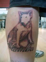 bullterrier tattoo by jotatr3s on deviantart