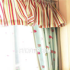 Ladybug Curtains Baby Curtains With Green Color Grommet Top For Room No Include