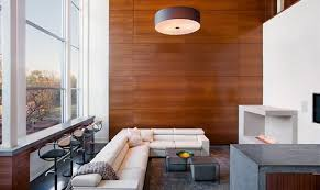 contemporary ideas wood wall living room vibrant wooden panel