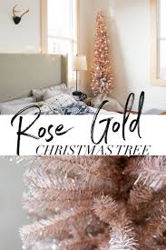 best 25 rose gold christmas tree ideas on pinterest rose gold
