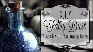 diy fairy dust black magic glitter potions how to make