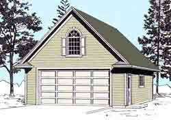 colonial garage plans garage plans colonial style two car garage with attic truss roof