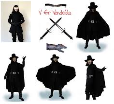 v for vendetta costume v for vendetta