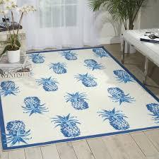 Pineapple Area Rug Waverly Sun N Shade Pineapple Grove Ivory Indoor Outdoor Area