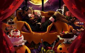 cool halloween backgrounds anime halloween wallpaper backgrounds