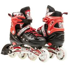 light up inline skates size 13j 3 adjustable kids light up inline skates red products