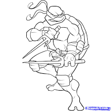 awesome ninja turtle coloring page 25 for your coloring for kids