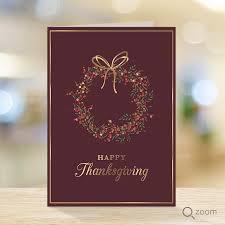 thanksgiving cards for the finance industry and business
