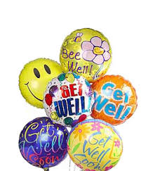 balloons delivered nyc get well balloons bouquet at from you flowers