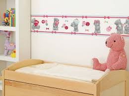 bordüre babyzimmer bordüre tatty teddy me to you tapeten borte babyzimmer