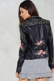 moto jacket grower u0027s bunch moto jacket shop clothes at nasty gal