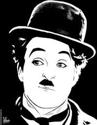 chaplin card from hungary paintings figure drawing and painting art