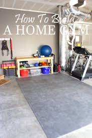 Home Garage Design Best 25 Home Gym Garage Ideas On Pinterest Garage Gym Home