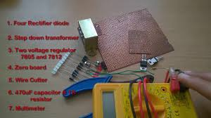 Wiring Diagram Power Supply Also Converter Circuit On How To Make A 5v Or 12v Power Supply Adapter Ac To Dc Converter
