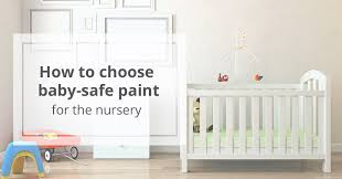 BabySafe Paint For The Nursery - Non toxic childrens bedroom furniture