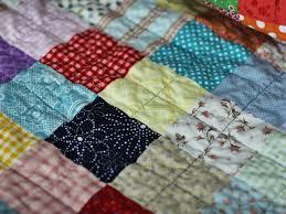 blue is bleu custom patchwork quilt