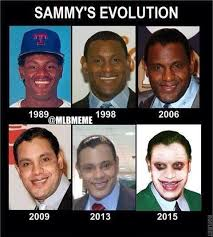 Memes De Sammy - mlb memes on twitter evolution of sammy sosa http t co