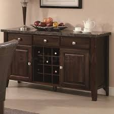 china buffets and cabinets milton dining server with dark marble