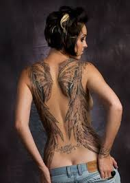 45 pictures of angel wing tattoos meaning and designs