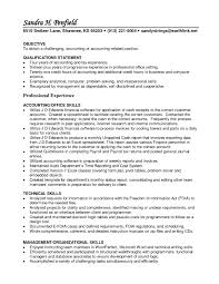 Sample Resume Job Objectives by Accounting Resume Objective 10 Objective Accountant Letter Sample