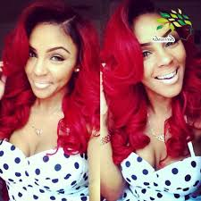 red ombre weave hairstyles fade haircut