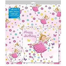 ballerina wrapping paper ballerina gift wrapping paper pack of 2 sheets and tags co