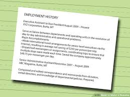 What To Put Under Achievements On A Resume 7 Ways To Make A Resume Wikihow